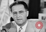Image of Clinton Anderson United States USA, 1945, second 57 stock footage video 65675072724