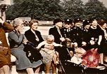Image of V-E Day celebration London England United Kingdom, 1945, second 21 stock footage video 65675072734