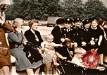 Image of V-E Day celebration London England United Kingdom, 1945, second 22 stock footage video 65675072734