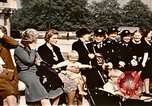 Image of V-E Day celebration London England United Kingdom, 1945, second 23 stock footage video 65675072734