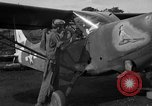 Image of L-5 Sentinel aircraft Saidor New Guinea, 1944, second 18 stock footage video 65675072745