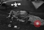 Image of L-5 Sentinel aircraft Saidor New Guinea, 1944, second 42 stock footage video 65675072745