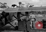 Image of L-5 Sentinel aircraft Saidor New Guinea, 1944, second 27 stock footage video 65675072746