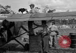 Image of L-5 Sentinel aircraft Saidor New Guinea, 1944, second 30 stock footage video 65675072746