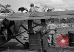 Image of L-5 Sentinel aircraft Saidor New Guinea, 1944, second 32 stock footage video 65675072746