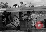 Image of L-5 Sentinel aircraft Saidor New Guinea, 1944, second 35 stock footage video 65675072746