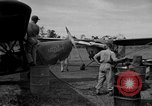 Image of L-5 Sentinel aircraft Saidor New Guinea, 1944, second 38 stock footage video 65675072746