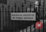 Image of George Horace Gallup New York United States USA, 1940, second 24 stock footage video 65675072764