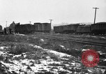 Image of railroad yard United States USA, 1920, second 8 stock footage video 65675072775