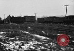 Image of railroad yard United States USA, 1920, second 12 stock footage video 65675072775