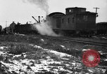 Image of railroad yard United States USA, 1920, second 25 stock footage video 65675072775