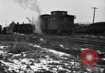 Image of railroad yard United States USA, 1920, second 27 stock footage video 65675072775