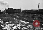 Image of railroad yard United States USA, 1920, second 36 stock footage video 65675072775