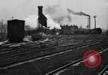 Image of railroad yard United States USA, 1920, second 39 stock footage video 65675072775