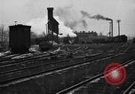 Image of railroad yard United States USA, 1920, second 40 stock footage video 65675072775