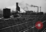 Image of railroad yard United States USA, 1920, second 42 stock footage video 65675072775