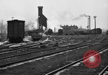 Image of railroad yard United States USA, 1920, second 49 stock footage video 65675072775