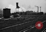 Image of railroad yard United States USA, 1920, second 56 stock footage video 65675072775