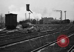 Image of railroad yard United States USA, 1920, second 58 stock footage video 65675072775