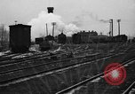 Image of railroad yard United States USA, 1920, second 60 stock footage video 65675072775