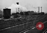 Image of railroad yard United States USA, 1920, second 61 stock footage video 65675072775