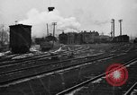 Image of railroad yard United States USA, 1920, second 62 stock footage video 65675072775