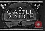 Image of cattle ranch United States USA, 1922, second 15 stock footage video 65675072779