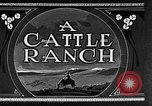 Image of cattle ranch United States USA, 1922, second 16 stock footage video 65675072779