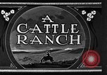 Image of cattle ranch United States USA, 1922, second 17 stock footage video 65675072779