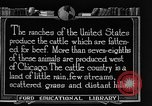 Image of cattle ranch United States USA, 1922, second 41 stock footage video 65675072779