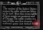 Image of cattle ranch United States USA, 1922, second 51 stock footage video 65675072779