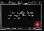 Image of cattle ranch United States USA, 1922, second 3 stock footage video 65675072780