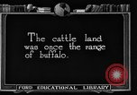 Image of cattle ranch United States USA, 1922, second 7 stock footage video 65675072780