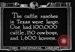 Image of cattle ranch United States USA, 1922, second 57 stock footage video 65675072780