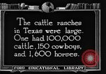 Image of cattle ranch United States USA, 1922, second 58 stock footage video 65675072780