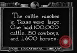 Image of cattle ranch United States USA, 1922, second 61 stock footage video 65675072780