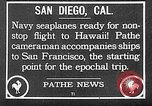 Image of PN-9 flying boat San Francisco California USA, 1925, second 21 stock footage video 65675072806