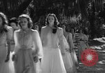 Image of beauty pageant Palatka Florida USA, 1941, second 9 stock footage video 65675072854