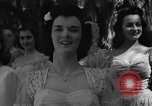 Image of beauty pageant Palatka Florida USA, 1941, second 15 stock footage video 65675072854