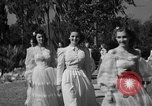 Image of beauty pageant Palatka Florida USA, 1941, second 20 stock footage video 65675072854
