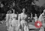 Image of beauty pageant Palatka Florida USA, 1941, second 21 stock footage video 65675072854