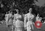 Image of beauty pageant Palatka Florida USA, 1941, second 22 stock footage video 65675072854