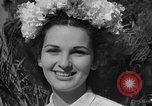 Image of beauty pageant Palatka Florida USA, 1941, second 52 stock footage video 65675072854