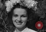 Image of beauty pageant Palatka Florida USA, 1941, second 53 stock footage video 65675072854