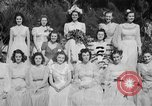 Image of beauty pageant Palatka Florida USA, 1941, second 54 stock footage video 65675072854