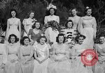 Image of beauty pageant Palatka Florida USA, 1941, second 56 stock footage video 65675072854