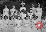 Image of beauty pageant Palatka Florida USA, 1941, second 57 stock footage video 65675072854