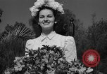 Image of beauty pageant Palatka Florida USA, 1941, second 58 stock footage video 65675072854