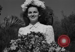 Image of beauty pageant Palatka Florida USA, 1941, second 59 stock footage video 65675072854