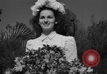 Image of beauty pageant Palatka Florida USA, 1941, second 60 stock footage video 65675072854